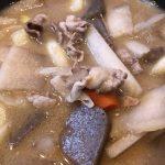 ポリフェノール豚汁(クロックティー豚汁)