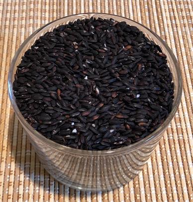 クロックティー素材 黒米