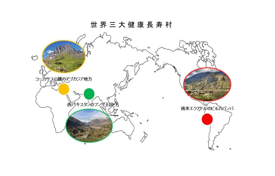 世界三大健康長寿村
