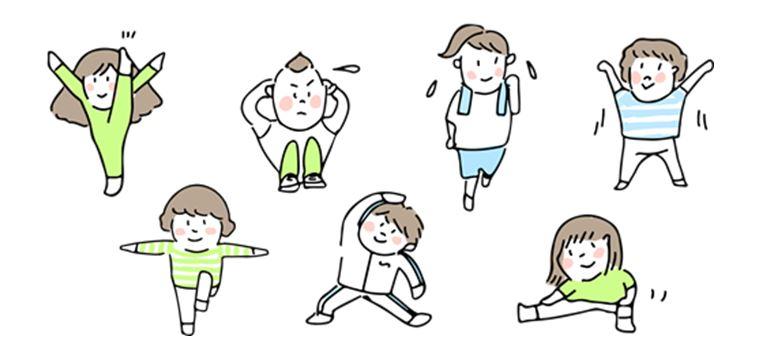 運動習慣は、運動強度(METs)を意識してメニューを作ることが重要。