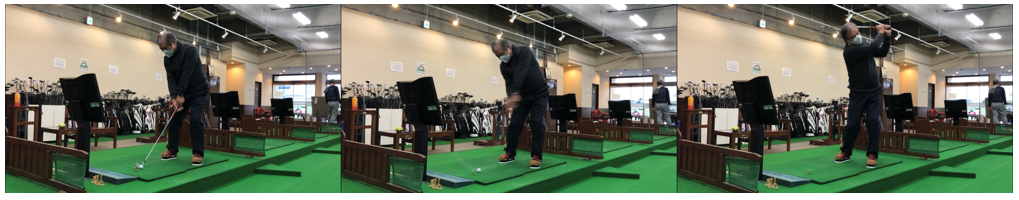 久保田プロ考案のゴルフメソッドのご紹介   ワシーガトウズを装着しての練習(トレーニング)