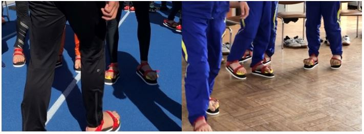 ワシーガトウズを使用した足指握力(足趾把持力)強化方法と 従来の足指握力(足趾把持力)強化方法(タオルギャザー、ボール掴み)との違い