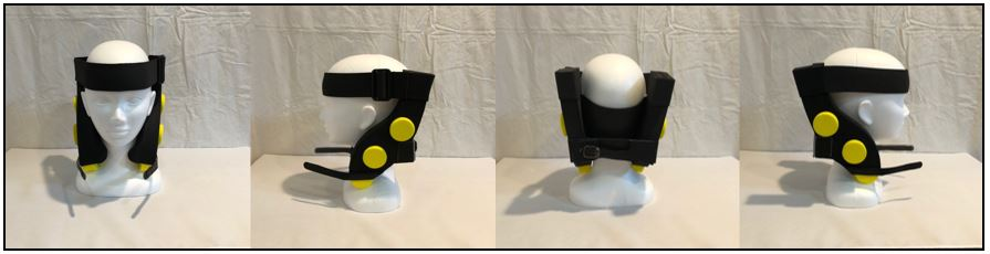 今冬発売予定 頚部(首回り)強化・ケアサポートギア「ワシーガ・ネック」