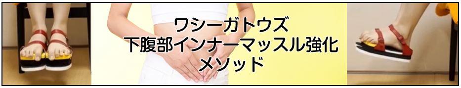 足指力(足趾把持力/足指握力)を利用したワシーガトウズ 下腹部インナーマッスル強化 メソッド